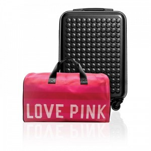 Love Pink Travel Holdall