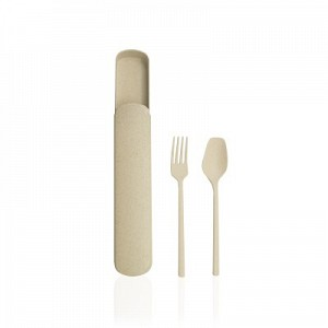 Wheat Straw Portable Tableware