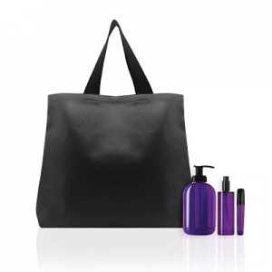 Logo Shopper Leatherette Tote