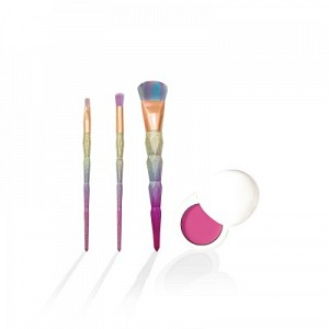 3 in 1 Rainbow Diamond Brush Set