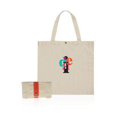 Logo Prints Fold-able Eco Jute